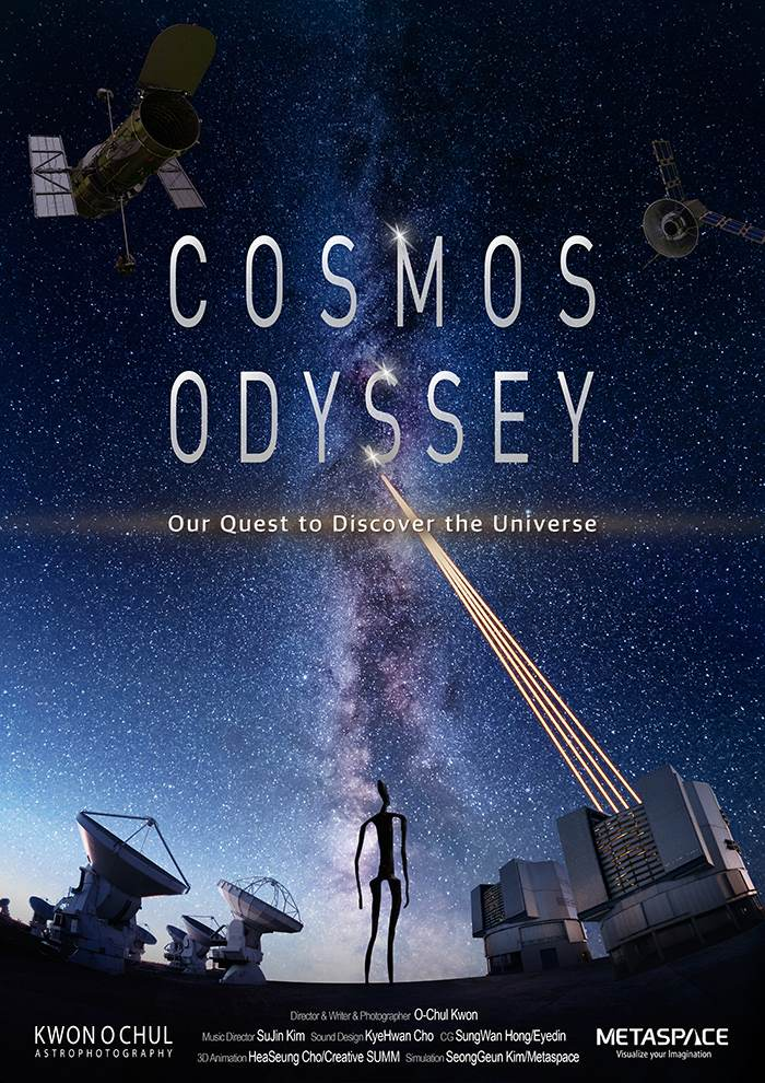COSMOS ODYSSEY - Our Quest to Discover the Universe